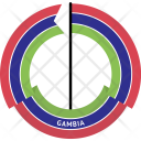 Gambia Country Flag Icon