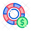 Racing Wheel Betting Icon
