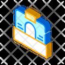 Brokerage Office Isometric Icon