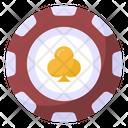 Casino Coin Gambling Chip Poker Chip Icon