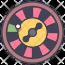 Casino Roulette Wheel Icon