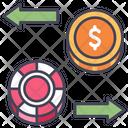 Casino Poker Gambling Icon
