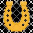 Casino Luck Gambling Fortune Horseshoe Icon
