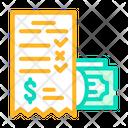 Winning Money Card Icon