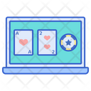 Gambling Online Game Addicted Gamimg Icon