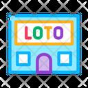 Lotto House Lottery Icon