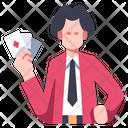 Gambler Gambling Casino Icon