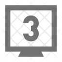Game Countdown Monitor Icon