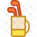 Game Golf Bag Icon