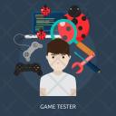 Game Tester Human Icon