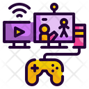 Live Game Game Electronic Icon