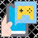 Game App Smartphone Icon
