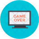 Game Over Lcd Icon