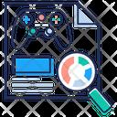 Game Analysis Statistics Visual Analytics Icon