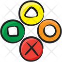 Media Buttons Game Buttons Cancel Button Icon