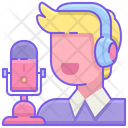 Game Commentator Icon