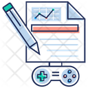 Game Concept Game Development Controller Icon