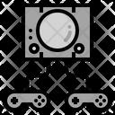 Game Console Joystick Icon