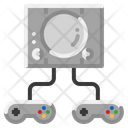 Game Console Joystick Icon