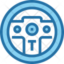 Game Controller Steering Icon