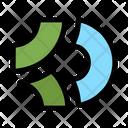 Game Credits Coin Crypto Icon