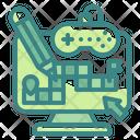 Game Design Development Coding Icon