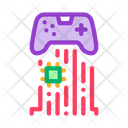 Game Controller Chip Icon