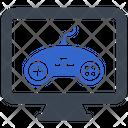 Controller Joystick Gear Icon