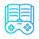 Game Education Gamepad Book Icon