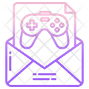 Game Email Game Mail Icon