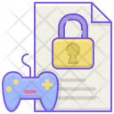 Game File Lock Icon