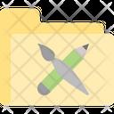 Game Folder App Brush Icon