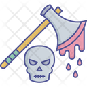 Game Killer Killer Knief Blood Dripping Axe Icon