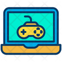 Gaming Laptop Computer Game D Game Icon