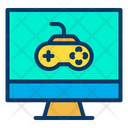 Gaming Computer Computer Game D Game Icon