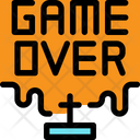 Game Over Game Finished Die Icon