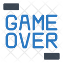Gameover End Finish Icon