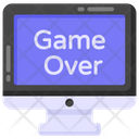Game Lose Game Over Game Defeated Icon