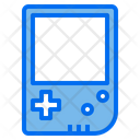 Portable Console Game Device Icon