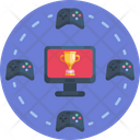 Esport Competition Gaming Competition Gaming Icon
