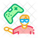Gamer Gaming Video Icon