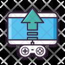 Game Publishing Game Development Game Sharing Icon
