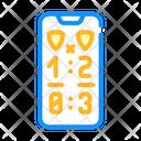 Game Score Phone Icon