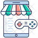 Game Shop Game Store Video Game Icon