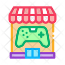 Game Shop Video Icon