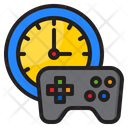Game Time Time Clock Icon