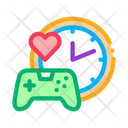 Game Playing Love Icon