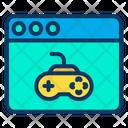 Web Gaming Web Game D Game Icon