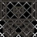 Gamepad Video Game Communication Icon