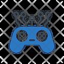 Game Control Artificial Icon
